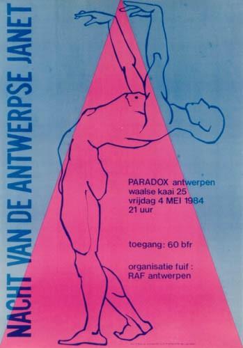 1984_Eerste fuif Paradox