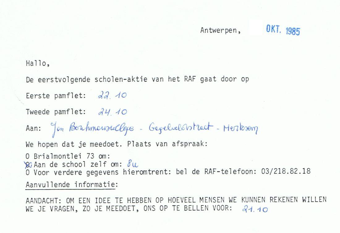1985_Scholen_uitnodiging