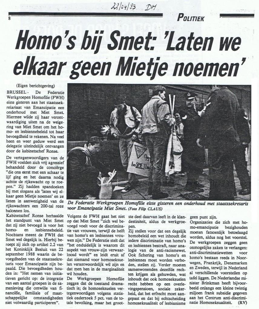 Miet Smet_Actie 1989