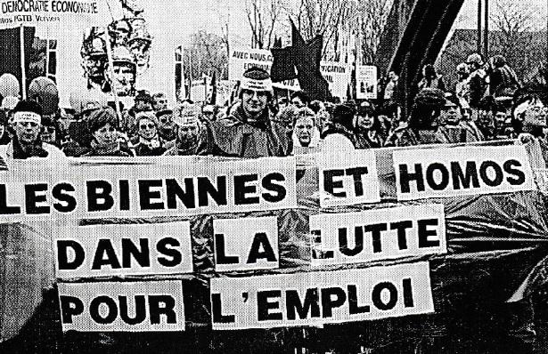 1997_Lesbiennes et homos dans la lutte pour l'emploi