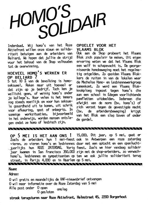 Sociale Strijd_Homo's Solidair_pamflet Beliard_0001