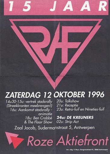 15 jaar RAF_affiche