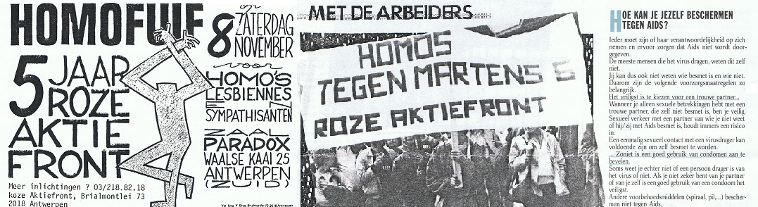 1986_30.000 Aids-folders in Antwerpen en een eigen platform