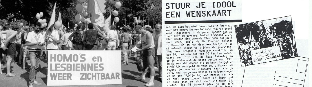 1990_Een Belgische Roze Zaterdag en Outing