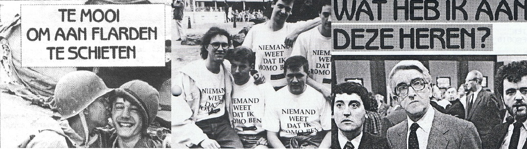 1991_Oorlog in de Golf, een T-shirt en een Homomonument