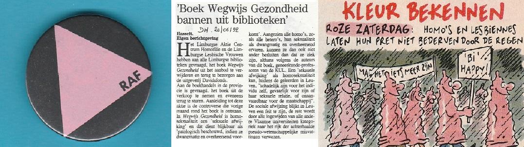 1992_Verzet tegen het Blok en solidariteit met allochtonen scheepsbouwers en mensen met HIV